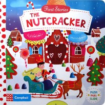 [Hellopandabooks] First Stories The Nutcracker - Push Pull Slide Board Book
