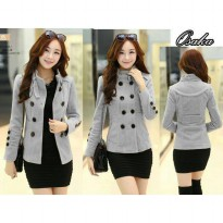 BLAZER OSAKA COAT - GREY
