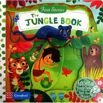 [Hellopandabooks] First Stories The Jungle Book - Push Pull Slide Board Book