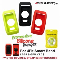 Silicone Bumper 4Connect 4Fit Smart Band Protective