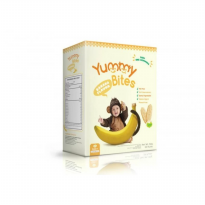 Yummy Bites Baby Rice Cracker - Banana - 50gram