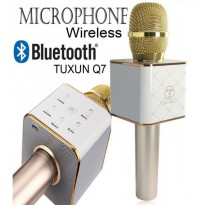 TUXUN Q7 Portable Mic Bluetooth Karaoke