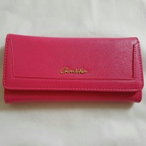 [CHARLES & KEITH] CLASSIC WALLET | PINK