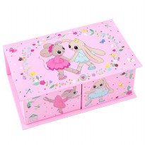 House of Mouse TM 8885 House of Mouse Jewellery Box, Pink