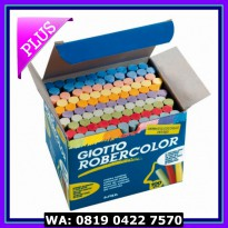[Promo Gajian] Giotto Robercolor 100 pcs - 10 Colored Chalk
