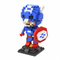 LOZ 9452 GIFT LARGE CAPTAIN AMERICA