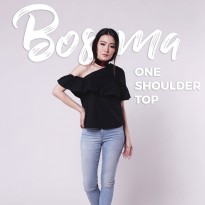 Jo & Nic Bosma One Shoulder Top - Atasan Wanita - Blus Wanita