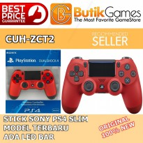 SALE Stick PS4 DualShock 4 - Merah - Magma Red