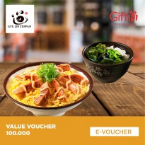 Gyu Jin Teppan - Value Voucher 100.000