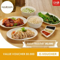 Mama Malaka - Value Voucher 50.000