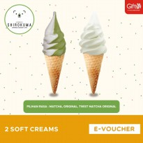 Shirokuma - [1+1] Get 2 Soft Cream