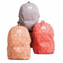 Tas Punggung | Korean Weekeight Folding Backpack | Tas Lipat Korea | 4 Pilihan animal Collection