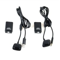 [poledit] SLLEA 2pcs 4800mAh Battery Pack+ Charger Cable for Xbox 360 Wireless Controller /13138733