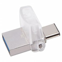 Promo USB Flashdisk Kingston DataTraveler microDuo 3C USB-C  USB 3.1 - 32GB
