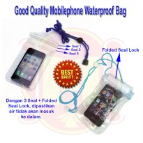 Mobilephone Waterproof Bag (Good Quality) | Kantong Hp Anti Air | Tempat Handphone Anti Air