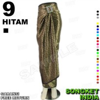 ROK LILIT INSTAN B115-9 Bahan Batik Songket Include Ring Belt Gasper