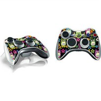 [poledit] Skinit Patterns Xbox 360 Wireless Controller Skin - Owls on Branches Vinyl Decal/13139243