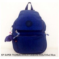 Tas Ransel Fashion Backpack Celeste 702 - 2