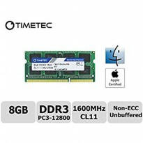 Promo Memory Team Mac Sodimm Low Voltage 1.35V For Apple DDR3 8GB