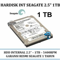 Promo Seagate 2.5 Inch 1 TB SATA Internal Notebook Laptop HDD \ Harddisk