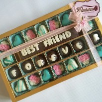 chocolate gift - BEST FRIEND FOREVER