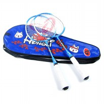Regail Raket Badminton Anak 2 PCS - Blue