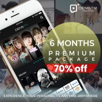 Dens.TV+ Premium Package - 6 Bulan