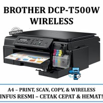 Promo Brother DCP-T500W
