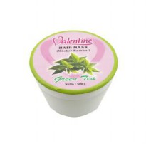 VALENTINE HAIR MASK GREEN TEA 500GR