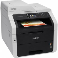 Promo Printer Brother MFC-9330CDW Wireless AIO, Fax, ADF  Auto Duplex