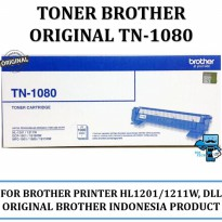 Promo Toner Brother Original TN1080 for HL-1201, HL-1211W, dll