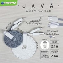 Promo Kabel Hippo JAVA Micro USB 180cm - High Quality