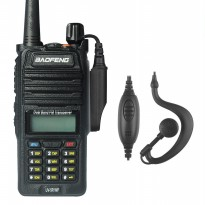 Radio Walkie Handy Talky HT BAOFENG POFUNG Dual Band UHF VHF Waterproof IP67 Version UV-5R WP