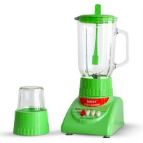 Airlux Electric Blender Glass Jar BT-X Low Watt 1,5L with Grinder Garansi 1 Tahun