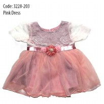COLETEE KIDS BABY GOWN / GAUN PESTA BAYI - PINK DRESS Code 3228-2