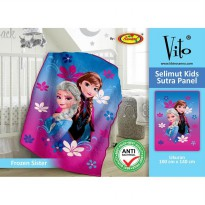 Vito Selimut Kids Sutra Panel 100x140 Frozen Sister