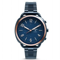 Fossil Hybrid Smartwatch-Q Accomplice Navy Blue, FTW1203