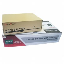 Promo VGA Splitter 1-4 Gaintech - High Quality - Original