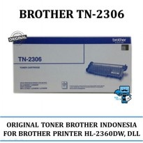 Promo Toner Brother Original TN2306 for HL-2360DN,HL-2365DW,dll