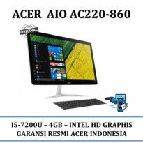 Promo PC All In One ACER AC22-860 i5-7200U - Resmi