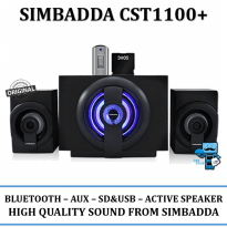Promo Simbadda Speaker CST 1100N \ CST1100N Port USB dan SD card