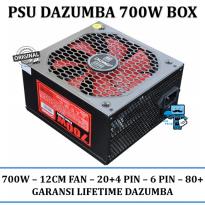 Promo Power Supply Dazumba Power Supply PSU 700W 700 Watt 24PIN