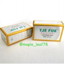 Sabun Tje Fuk Lightening Soap With Scrub 30gr