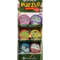 Puzzle Lunch Set - 6 Karakter