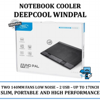 Promo Cooling Fan Deepcool WINDPAL- Dual 14cm fan w\USB Hub upto 17 - Resmi