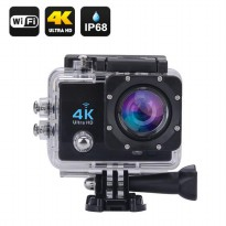 Sport Action Camera 4k Ultra-HD 16mp WIFI Waterproof