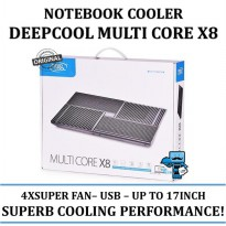 Promo Cooling Fan Deepcool MULTI CORE X8 - 4XSUPER FANS - upto 17 - Resmi