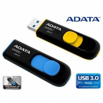 Promo Flasdisks ADATA UV128-UV150 USB 3.0 slider, capless 32GB - Original