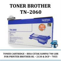 Promo Toner Brother Original TN2060 for HL-2130, DCP-7055
