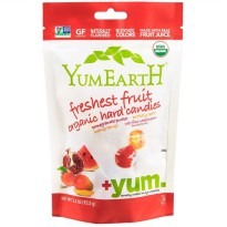 YumEarth Organic Hard Candies, Freshest Fruit , 3.3 oz (93.5 g)